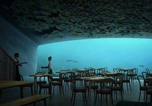 Avrupa'nın ilk sualtı restoranı ile tanışın