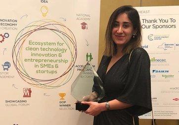 İnovasyonda Kadın Projesi  finalisti Duygu Yılmaz'a ABD'den ödül
