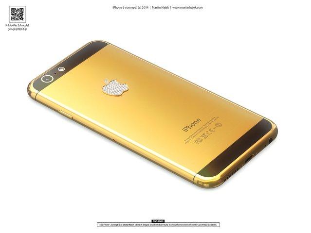 Lüks iPhone 6 böyle gözükebilir