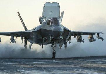 Lockheed Martın'in F-35 uçakları Türkiye'ye geliyor