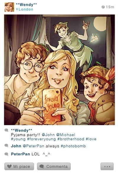 Disney karakterlerinin Instagram hesapları nasıl olurdu?