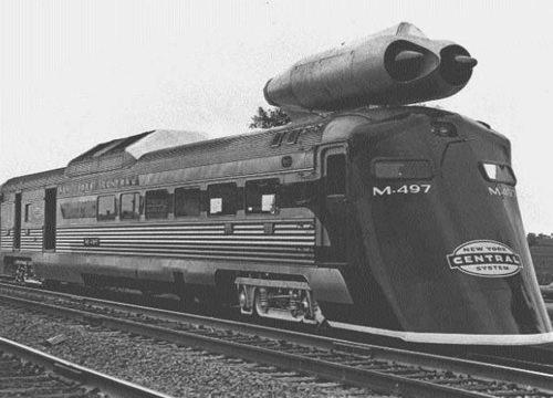 60'lı yıllarda üretilen jet motorlu trenin rekoru halen kırılamadı