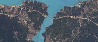 İlk yerli uydu RASAT İstanbul'u görüntüledi