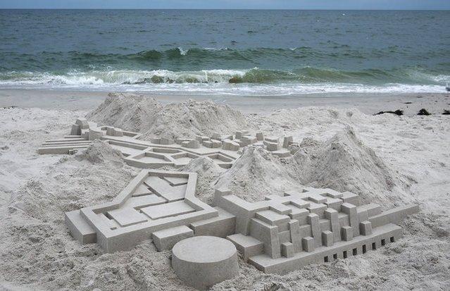 Kumdan kale böyle yapılır!