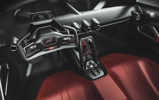 Ferrari'nin efsane modeli F40'a modern tasarım!