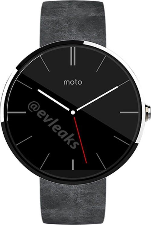 Moto 360 basın görselleri