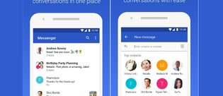 Google Messenger'ın adı Android Messages oldu!