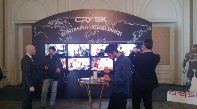 Crytek İstanbul ofisi basın lansmanı