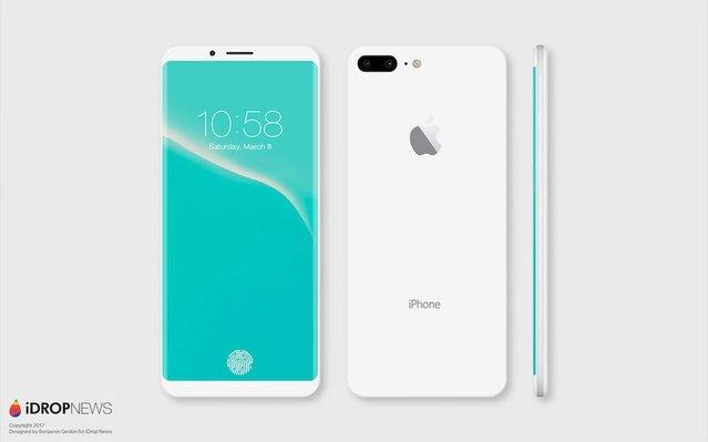 iPhone 8 yani iPhone Edition böyle olabilir