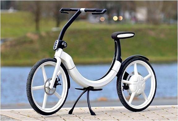 Volkswagen'in elektrikli bisikleti