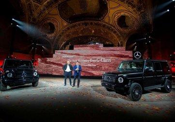 2019 Mercedes-Benz G-Class görücüye çıktı