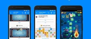 Facebook Messenger'a yeni oyunlar ve özellikler geliyor!