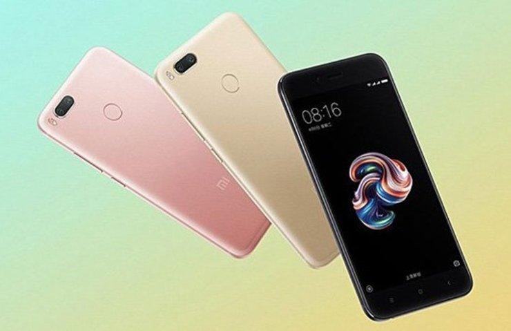 Xiaomi Mi 5X Android One'a dahil olacak