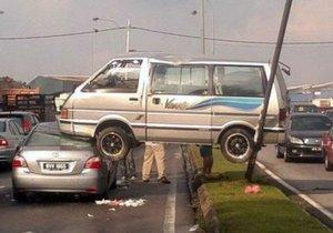 İşte en ilginç trafik kazaları