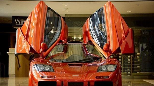 Bu McLaren 12 milyon dolara satışa çıkacak