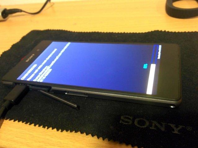 Sony Xperia Z2'nin fotoğrafları sızdı