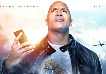 Dwayne Johnson ve Apple'dan Siri kısa filmi
