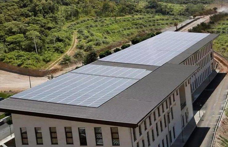 Üniversitenin elektriği güneşten karşılanıyor