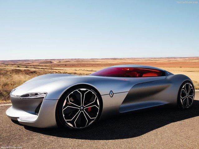 2016'nın en güzel konsept otomobili 'Renault TREZOR' seçildi!