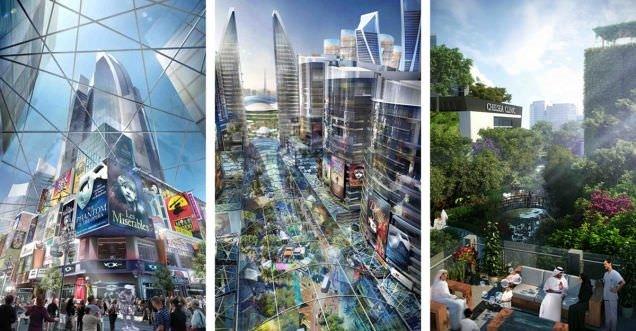 Dünyanın ilk iklim kontrolü yapılabilen şehri inşa ediliyor