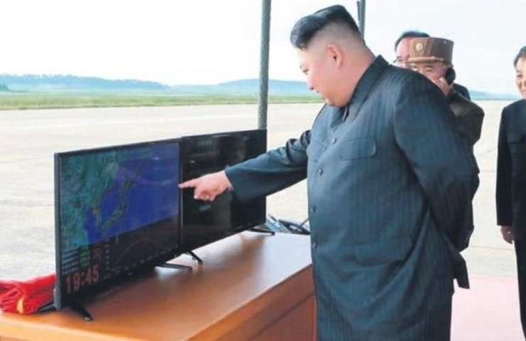 KİM JONG-UN, HEDEFLERİNİ GOOGLE EARTH'TEN BULUYOR