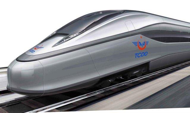 İlk Milli Tren görücüye çıktı