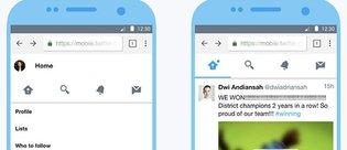 Az veri tüketen Twitter Lite duyuruldu