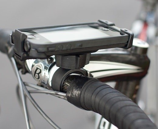 iPhone için bisiklet tutucuları