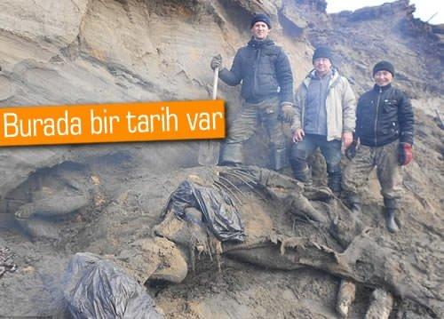 11 yaşındaki çocuk, 30 bin yıllık mamut buldu!