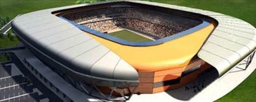 Her şehre özel tasarım stadyum