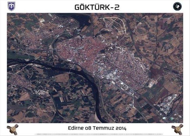 Göktürk-2'den Türkiye fotoğrafları