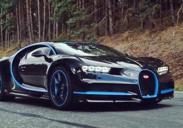 Bugatti Chiron'un rekor videosu böyle çekilmiş