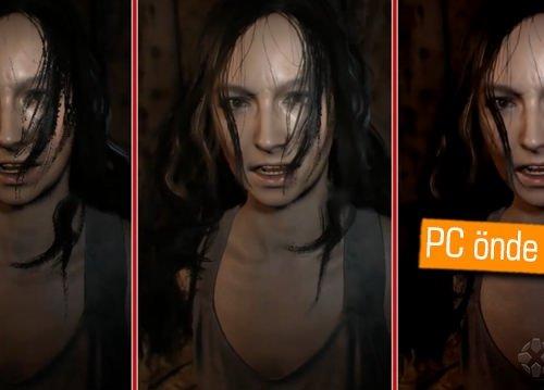 Resident Evil 7 Biohazard grafik karşılaştırması: PC, PS4, XONE