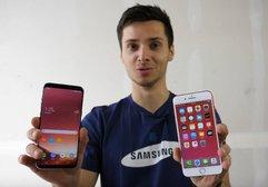Samsung Galaxy S8+ düşme testinde girdi