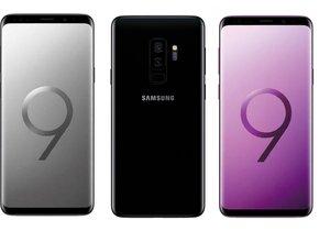 Samsung Galaxy S9+'ı paramparça ettiler