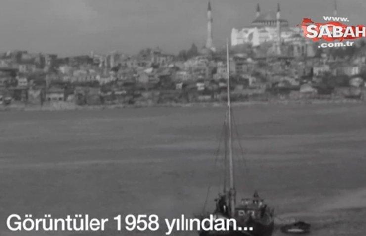 1958 yılına ait İstanbul görüntüleri ilk kez ortaya çıktı!