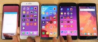 Galaxy S8, iPhone 7 Plus, LG G6, Pixel ve 3T hız testi!