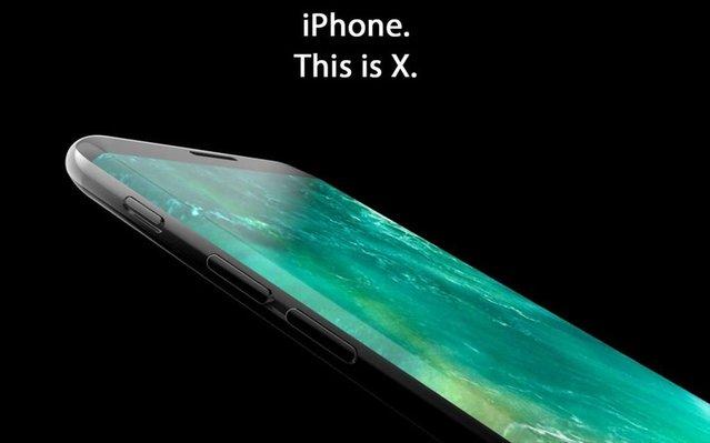 Neredeyse çerçevesiz iPhone 8 böyle olabilir mi?