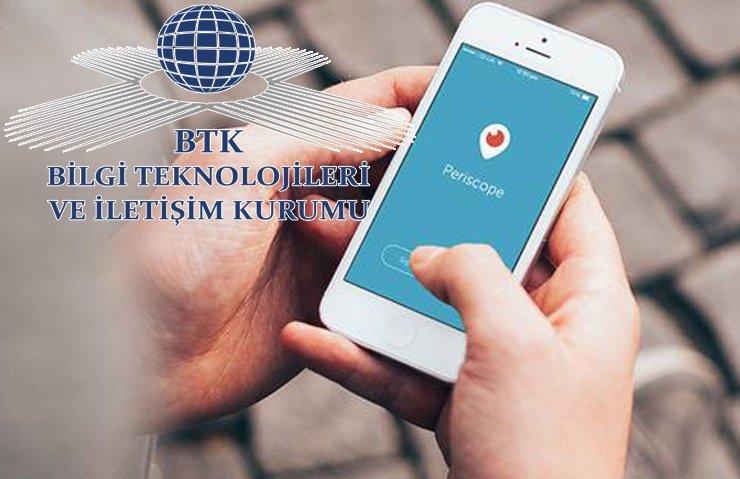 BTK'DAN PERİSCOPE'UN KAPANMASIYLA İLGİLİ AÇIKLAMA