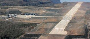 Bu havalimanına yılda yalnızca 1 uçak iniyor