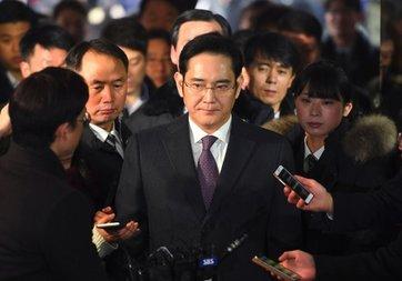 Samsung'un veliahtı tutuklandı!