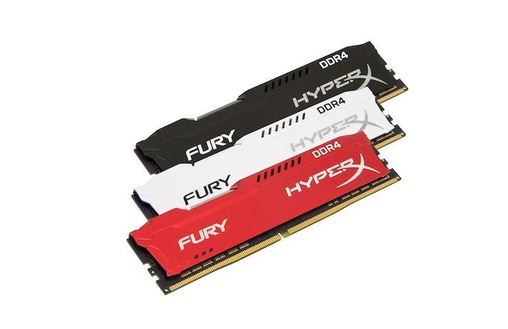 HYPERX FURY DDR4 AİLESİ YENİLENDİ