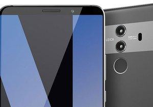 Huawei Mate 10 Pro'nun detayları görselleri yayınlandı
