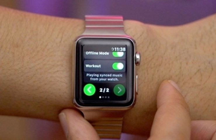 RESMİ SPOTİFY UYGULAMASI APPLE WATCH'A GELİYOR