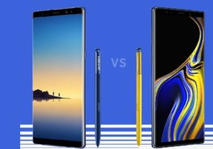 Galaxy Note 9 vs. Galaxy Note 9! (Tüm farkları)