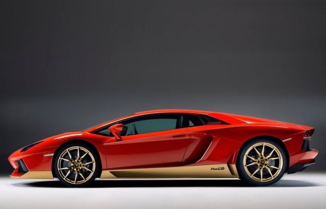 Lamborghini Aventador Miura Homage ile tanışın