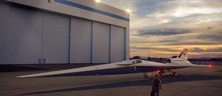 NASA için 'sessiz' süpersonik uçak üretilecek