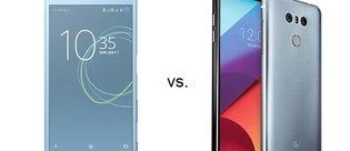 Sony Xperia XZs ile LG G6 karşı karşıya