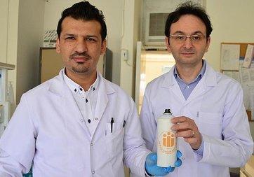 Bordan üretilen yapıştırıcı ameliyatlarda kullanılabilecek