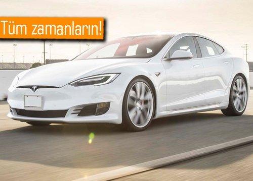 2017 Tesla Model S P100D 0-100 km/s hıza rekor sürede ulaşmayı başardı!